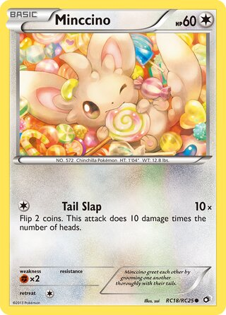 Minccino (Legendary Treasures RC18/RC25)
