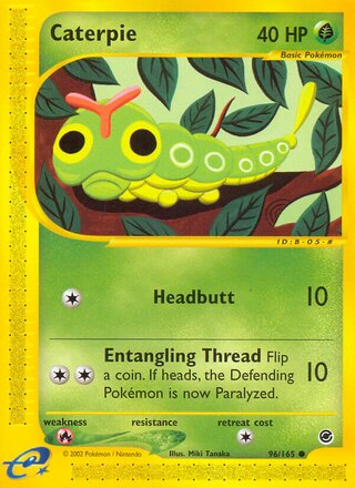 Caterpie (Expedition Base Set 96/165)