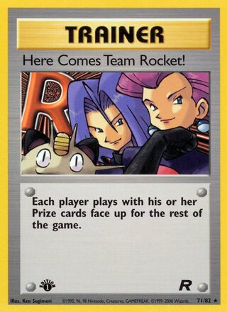 Here Comes Team Rocket! (Team Rocket 71/82)