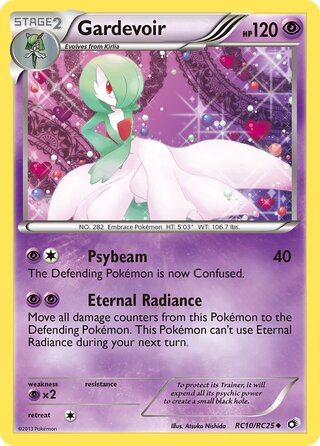Gardevoir (Legendary Treasures RC10/RC25)