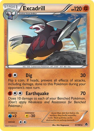Excadrill (Emerging Powers 57/98)