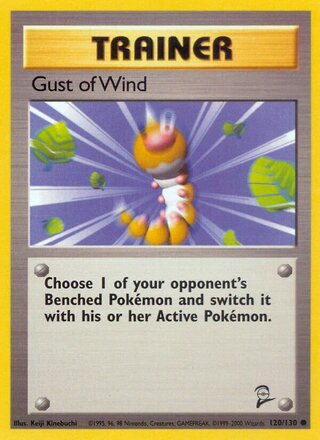 Gust of Wind (Base Set 2 120/130)