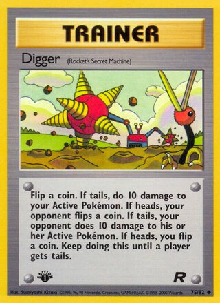 Digger (Team Rocket 75/82)