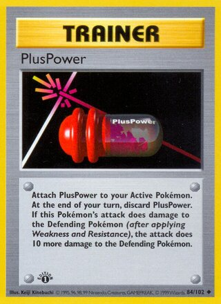 PlusPower (Base Set 84/102)