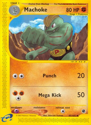 Machoke (Expedition Base Set 85/165)