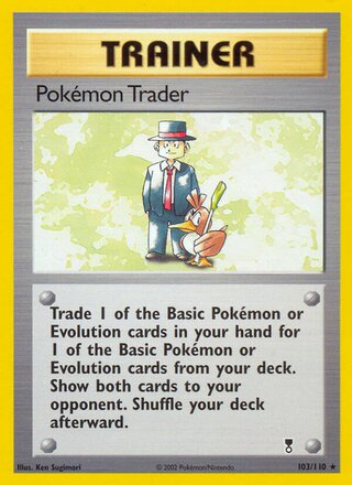 Pokémon Trader (Legendary Collection 103/110)