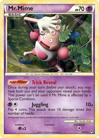 Mr. Mime (Call of Legends 29/95)