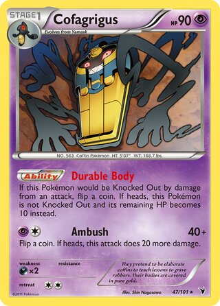 Cofagrigus (Noble Victories 47/101)