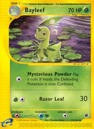 Bayleef (Expedition Base Set 71/165)