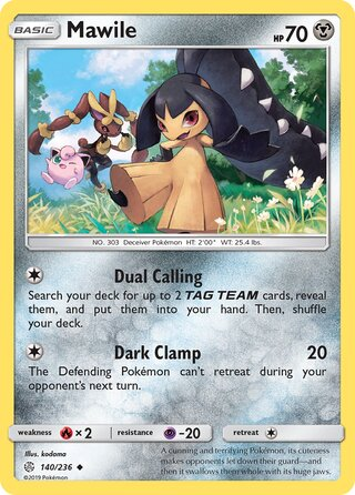 Mawile (Cosmic Eclipse 140/236)