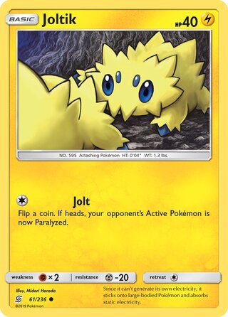 Joltik (Unified Minds 61/236)