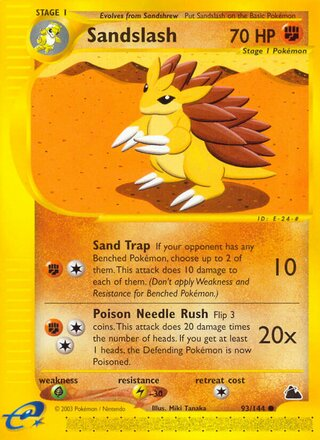 Sandslash (Skyridge 93/144)