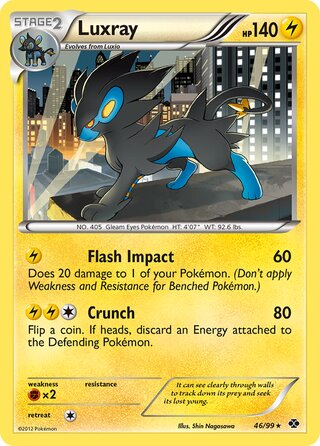 Luxray (Next Destinies 46/99)