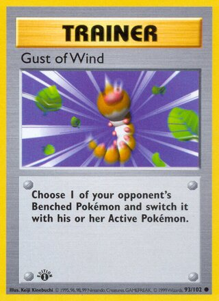 Gust of Wind (Base Set 93/102)