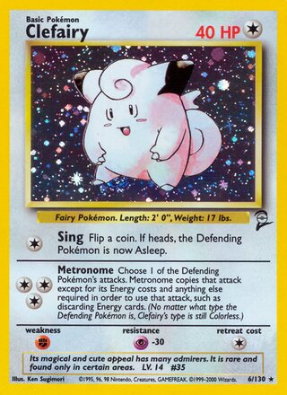 Clefairy (Base Set 2 6/130)