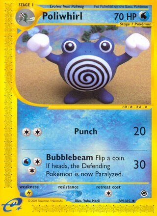 Poliwhirl (Expedition Base Set 89/165)