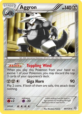 Aggron (Dragons Exalted 80/124)