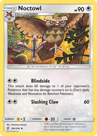 Noctowl (Unified Minds 166/236)