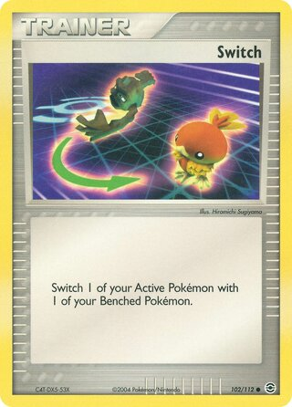 Switch (EX FireRed & LeafGreen 102/112)