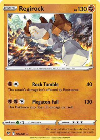 Regirock (Vivid Voltage 089/185)