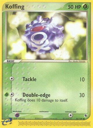 Koffing (EX Ruby & Sapphire 54/109)