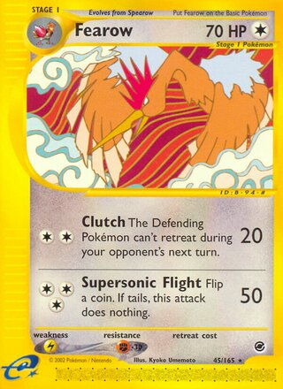 Fearow (Expedition Base Set 45/165)