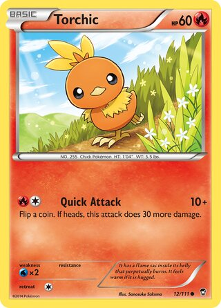 Torchic (Furious Fists 12/111)
