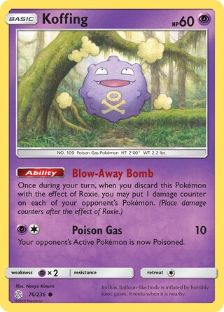 Koffing (Cosmic Eclipse 76/236)