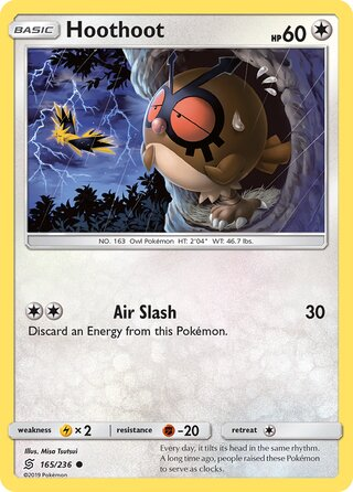 Hoothoot (Unified Minds 165/236)