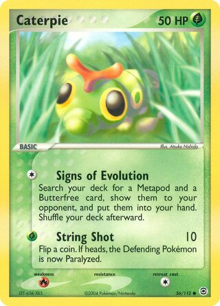 Caterpie (EX FireRed & LeafGreen 56/112)