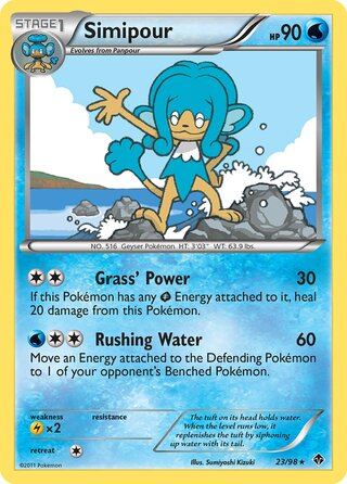 Simipour (Emerging Powers 23/98)