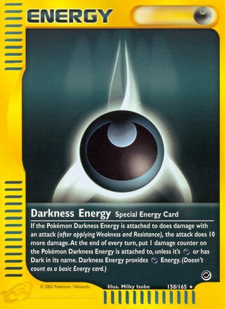 Darkness Energy (Expedition Base Set 158/165)
