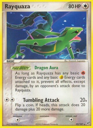 Rayquaza (EX Deoxys 22/107)