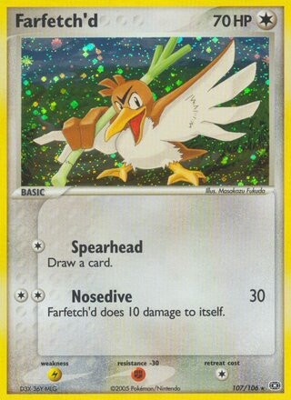 Farfetch'd (EX Emerald 107/106)