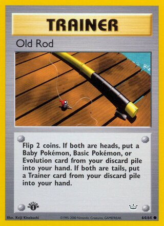 Old Rod (Neo Revelation 64/64)