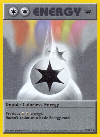 Double Colorless Energy (Base Set 96/102)