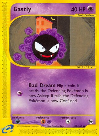 Gastly (Expedition Base Set 109/165)