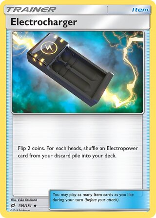 Electrocharger (Team Up 139/181)