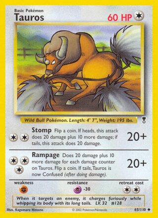 Tauros (Legendary Collection 65/110)