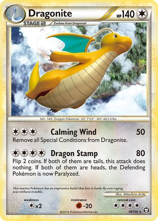Dragonite (Triumphant 18/102)