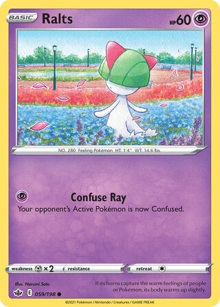 Ralts (Chilling Reign 059/198)