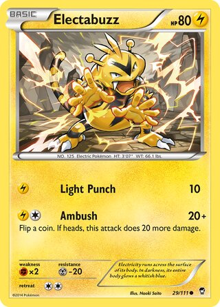 Electabuzz (Furious Fists 29/111)