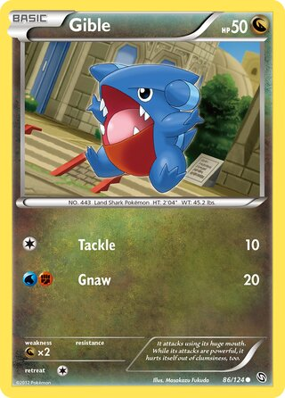 Gible (Dragons Exalted 86/124)