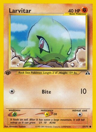 Larvitar (Neo Discovery 57/75)