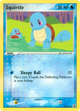 Squirtle (EX FireRed & LeafGreen 82/112)