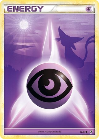 Psychic Energy (Call of Legends 92/95)