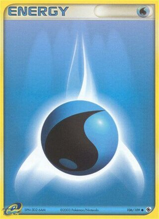 Water Energy (EX Ruby & Sapphire 106/109)