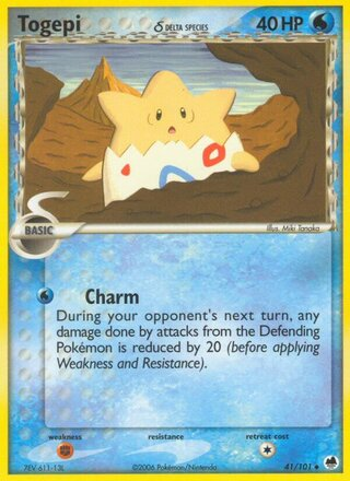 Togepi δ (EX Dragon Frontiers 41/101)