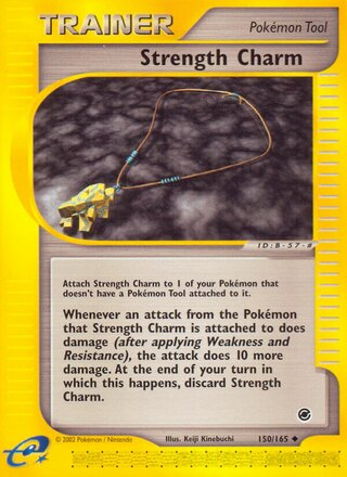 Strength Charm (Expedition Base Set 150/165)