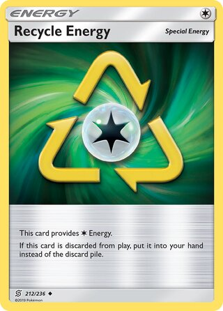 Recycle Energy (Unified Minds 212/236)